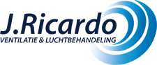 J. Ricardo Ventilatietechniek Logo